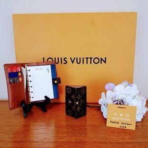 Louis Vuitton: Agenda PM Mono AND MultiCles 6 key